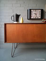 Vintage Retro Teak 60s G PLAN SIDEBOARD Industrial Hairpin Legs