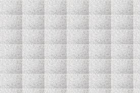 White Terrazzo Floor Background Vinyl Wallpaper