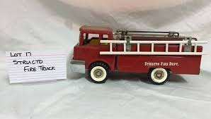 STRUCTO TRUCK   Kidd Family Auctions Vintage 1950s Structo Cattle Farms Inc Toy Truck And Trailer 1950s Structo Toys Steel Army Truck Vintage Metal Toy Wrecker Truck Parts Toys Buddy L Tow 1940s Pinterest Very Early Vintage Pressed Dump 4900 Childrens Books Flash Cards Colctible Steel Diecast Cadillac No 7375 Hp Elrado Brougham Concept Lloyd Ralston Nice Yellow Truckgreen Trailer Yellow Steam Shovel Barrel Windup Red Blue C