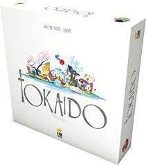 Tokaido Board Game Out Of Print Edition
