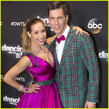 Allison Holker Andy Grammer Urge Fans To Vote After American Bandstand Quickstep On DWTS