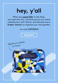 Birchbox Coupon Code: Free Draper James Pouch With $50+ ... 13piece Tools Of The Trade Cookware Set Stainless Steel Or Nonstick 30 Free Shipping Jollychic Chic Online Shopping For Refined Clothes Spiritu Spring 2019 Subscription Box Review Coupon Code Goodshop Coupons Coupon Codes Exclusive Deals And Discounts Zinus Discount November 20 Off Rustic Distressed Book Vintage Shabby Shelf Display Farmhouse Coffee Table Decorative French Decor Unbound Mantel Art Kohls Free Shipping Codes Hottest Deals Newchic_men Newchic Men How About Such Brief Style North Beach Promo Shopify Email Marketing Automation Software Seguno Fashion Discover The Latest