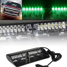 100 Truck Strobe Lights Green 16 LED High Intensity LED Emergency Hazard