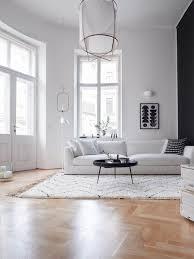 zeitlos und klassisch flauschige schwarz weiß teppiche für