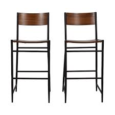 89% OFF - West Elm West Elm Rustic Wood Bar Stools / Chairs Bakoa Bar Chair Mainstays 30 Slat Back Folding Stool Hammered Bronze Finish Walmartcom Top 10 Best Stools In 2019 Latest Editions Osterley Wood 45 Patio Set Solid Teak With Foot Rest Details About Bar Stool Folding Wooden Breakfast Kitchen Ding Seat Silver Frame Blackwood Sonoma Wooden Bar Stool 3d Model Backrest Black Exciting Outdoor Shop Tundra Acacia By Christopher