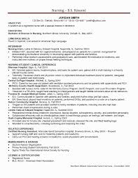Icu Nurse Resume Skills Sample Lovely Nursing Canada Of Elegant