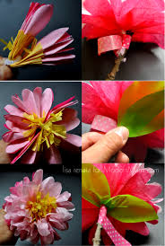Awesome Paper Crafts Making Tissue Flowers Ideas Images Mexican How To Make Healthy