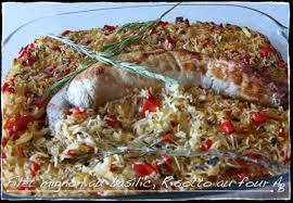 cuisiner le basilic filet mignon au basilic et risotto au four l atelier de boljo