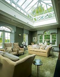Living Room In A Large Self Build Classical Style Cheshire