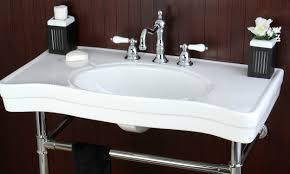 Slow Draining Bathroom Sink Remedy by How To Remove A Bathroom Sink Overstock Com