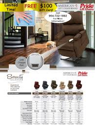 Lift Chairs Recliners Covered By Medicare by Power Lift Chairs By Pride Jacksonville Florida 32211