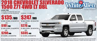 White Allen Chevrolet In Dayton | Serving Columbus & Cincinnati, OH ... Lease Specials Ryder Gets Countrys First Cng Lease Rental Trucks Medium Duty A 2018 Ford F150 For No Money Down Youtube 2019 Ram 1500 Special Fancing Deals Nj 07446 Leading Truck And Company Transform Netresult Mobility Truck Agreement Template Free 1 Resume Examples Sellers Commercial Center Is Farmington Hills Dealer Near Chicago Bob Jass Chevrolet Chevy Colorado Deal 95mo 36 Months Offlease Race Toward Market