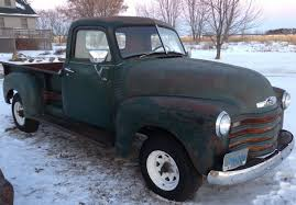 BARN FIND 1950 CHEVROLET 3600 PICKUP TRUCK PATINA HOT RAT ROD GMC ...