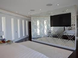 Bedroom Mirror Wall