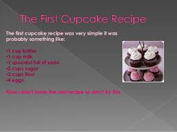 The History Of Our Amazing Cupcake
