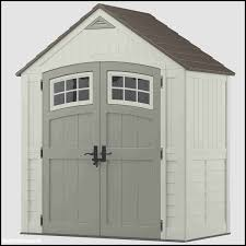 Suncast Resin Glidetop Outdoor Storage Shed Bms4900 by Garden Shed Kits Home Depot Home Outdoor Decoration