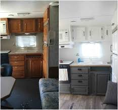 Amazing Camper Renovation Before And After Rv Travel Trailer Remodels You Need To See Rvsharecomrhrvsharecom Small