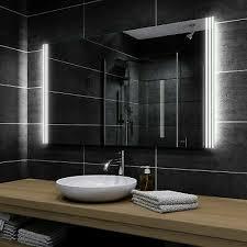 led badspiegel spiegel nach maß mit beleuchtung wandspiegel