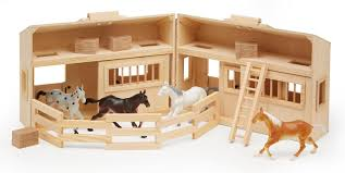 Amazon.com: Melissa & Doug Fold And Go Wooden Horse Stable ... The 7 Reasons Why You Need Fniture For Your Barbie Dolls Toy Sleich Barn With Animals And Accsories Toysrus Breyer Classics Country Stable Wash Stall Walmartcom Wooden Created By My Brother More Barns Can Be Cound On Box Woodworking Plans Free Download Wistful29gsg Paint Create Dream Classic Horses Hilltop How To Make Horse Dividers For A Home Design Endearing Play Barns Kids Y Set Sets This Is Such Nice Barn Its Large Could Probally Fit Two 18 Best School Projects Images Pinterest Stables Richards Garden Center City Nursery
