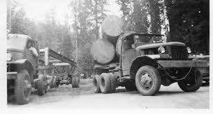 The 1945 International Logging Truck | Sierra Nevada Logging Museum