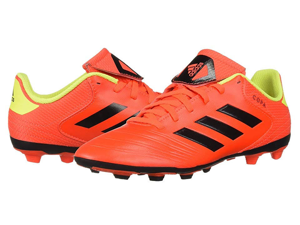 Adidas Copa 18.4 FxG Junior Soccer Cleats Red-Black - 13K