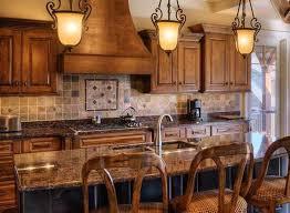 Image Of Model Rustic Kitchen Backsplash