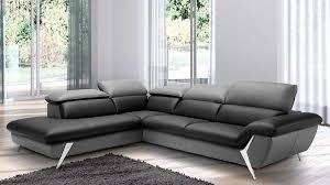 canape cuir angle gauche grand canapé d angle méridienne 6 places cuir haut de gamme