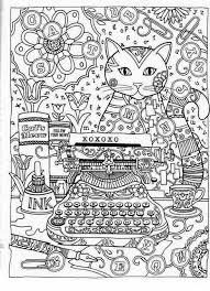 Cats Adult ColoringColoring BooksColoring