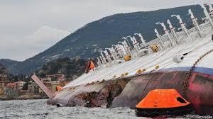 bbc news in pictures italy cruise ship disaster