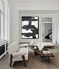 Huge Abstract Painting On Canvas Vertical Extra Large Wall Art