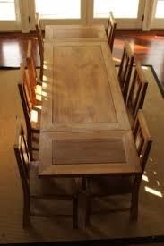 table à rallonges en bois grandes tables tables matahati