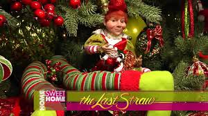 Christmas Tree Decorations Ideas 2014 by Christmas Tree Decorating Ideas From The Last Straw 2014 Youtube