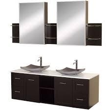 avara 60 inch double sink bathroom vanity set