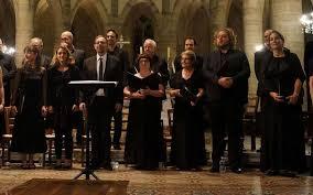 choeur de chambre de le chœur de chambre de lourdes en concert pour la bonne cause à pau