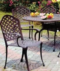 Threshold Patio Furniture Manufacturer by 75 Best Cast Iron Outdoor Furniture Images On Pinterest Outdoor