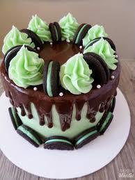 Baking with Blon Chocolate Mint Oreo Cake