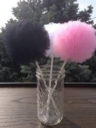 Tulle Pom Pom Decorations by Fluffy Tulle Pom Poms Centerpiece Party Decoration Pom Pom Balls