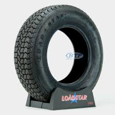 100 14 Inch Truck Tires Trailer Tire ST21575D Bias Ply In Load Range C 1870lb By