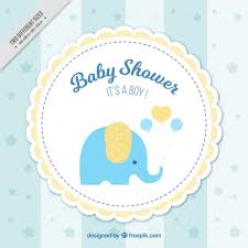 Baby Shower Logo by Baby Shower Background Vector Free Download