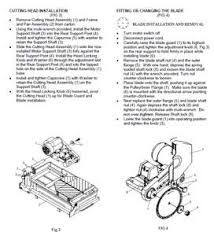 Mk 170 Wet Saw Instruction Manual by How Do I Change The Blade On Felker Tm 75 Tile Saw Fixya
