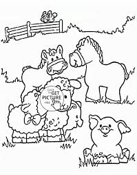 AnimalAnimal Color Farm Animal Coloring Pages African Animals Books For