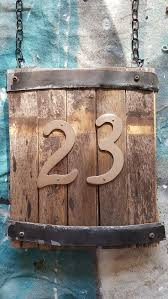 Best 25+ Rustic House Numbers Ideas On Pinterest | Milk Can Decor ... Warren House Numbers Rejuvenation Pottery Barn Knockoff Moss Letters Blesser Fniture Sonoma For Versatile Placement In Your Room Fun Ideas Tree Bed Best House Design Design Impressive Office With Mesmerizing Knockoff Noel Sign Living Rich On Lessliving 6 Modern Mayfair Sconce Way Cuter Than A Floodlight 4 Two It Yourself Diy Number Sign And How To Drill Into Brick Inspired Beach Barn Inspired
