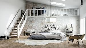 photo chambre chambre en mezzanine idées décoration intérieure farik us