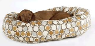 milano microvelvet donut bowsers dog bed unique dog beds