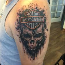 Harley Davidson Owners Tend To Love Their Bike With Unmatched Devotion These Tattoos Prove That A T