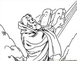Baby Moses Bible Coloring Pages Story