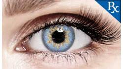 Blue Prescription Halloween Contacts by Wickedeyez Premium Halloween Contact Lenses Colored Contacts