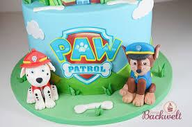 paw patrol torte jennys backwelt