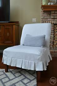 Armless Chair Slipcover Sewing Pattern by Sew Your Own Chair Slipcover Refresh Living