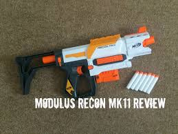 nerf modulus recon mkii unboxing review range test
